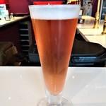 ビアスタンドホップ - 『トロピカルピンク』~!!『ピンクグレープフルーツ』をメインに使って作った『トロピカルティー』の香りがするビール~♪(* ̄∇ ̄)ノ