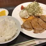 バー ミズ - 豚ロース生姜焼きセット