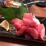 蛤覚 - バチマグロのハラミ刺