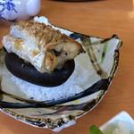 海鮮料理 みはる - 太刀魚石焼き1300円です。