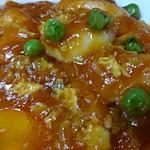 中国四川料理 太陽 - エビチリはプリプリです
