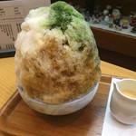 ささやなぎ - F氷金時(レモン抜き)¥750