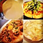 イタリアン カフェ ダイニング FUZZY - 自家製pizzam(._.)m