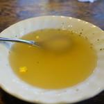 鳥心 - コンソメスープ