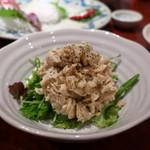 海鮮居酒屋 魚アツ - 貝柱のマカロニサラダ