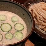 73777565 - 冷汁味噌つけ麺