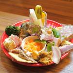 トラットリアモッチ - ☆前菜全部盛合せ 1人前 1500円