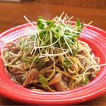 トラットリアモッチ - ☆秋刀魚のコンフィのスパゲティ