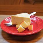 トラットリアモッチ - ☆ゴルゴンゾーラのチーズケーキ 500円