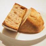 ステーキ そらしお - ステーキコース 5000円 のパン