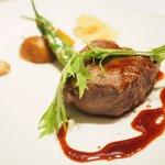 ステーキ そらしお - ステーキコース 5000円 の和牛サーロイン(120g)
