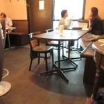 テルチャン - テーブル席