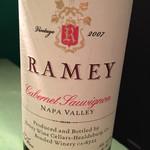 ワインレストラン ドミナス - RAMEY Cabernet Sauvignon 2007