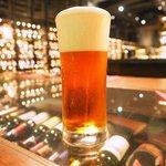 ワインハウス 南青山 - 生ビール 琥珀エビス 780円