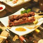ワインハウス 南青山 - 牛レバー串焼き 580円