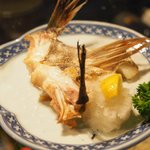ワインハウス 南青山 - 鯛カブト 780円