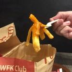 ファーストキッチン・ウェンディーズ - マカオ味のポテト