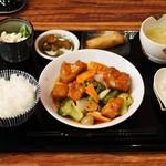 Hanaya - 酢豚セット900円