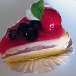 かのこ庵 - レアチーズケーキ