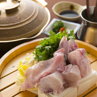 てっちり(ふぐ鍋)「ぴくぴく料理」