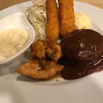 ヒロズキッチン - エビフライ チキン南蛮 ハンバーグ ランチ