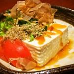 73784604 - 豆腐としらすのサラダ