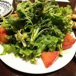 熟成肉バル Carne Rico Katete - 春菊のサラダ