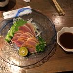 魚町屋 ぶぶか - 2017年09月23日  地鶏たたき 680円