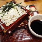 そば処 名古屋 - 料理写真:ざるそば
