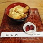 そば処 名古屋 - ミニかつ丼