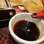 そば処 名古屋 - 蕎麦湯