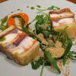 ミネバル - 前菜:鯖とジャガイモのミルフィーユ仕立て2