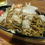 生麺焼そば こなひろ - 料理写真:みっくすそば 950円