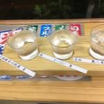 おおいた温泉座 - 麦利き酒
