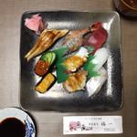 福一 - 上にぎり寿司盛り合わせ2,700円