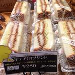 73787414 - もっちり食パンが使われて、美味しかった。(^^)