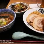 日本の中華そば富田 - チャーシュー濃厚つけ麺