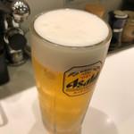 魚がし日本一 - 生ビール