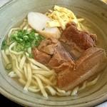 花村そば - 二種類の肉