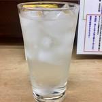 73790874 - 芋焼酎の水割り