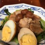 中華風家庭料理 ふーみん - 豚肉の梅干し煮