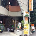 インドカレーの店 アールティー - 店舗自体は地下にある。