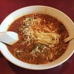 中華料理 なるたん - 麺は自家製麺です。