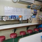今井橋そば店 - 店内の様子