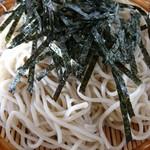 そば処ふく井 - 料理写真:ざるそば アップ