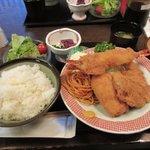 相州長屋 - ミックスフライ定食2017.09.26