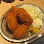 晩杯屋 - カキフライ(4ヶ)