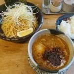 上野 戸みら伊本舗 - 特性つけ麺とライス