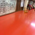 東東亭 - テーブル