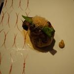 明神館 - 小山牛の茄子釜焼